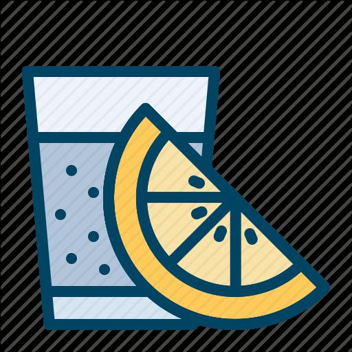 Drink, Glass, Lemon, Shots, Tequila Icon