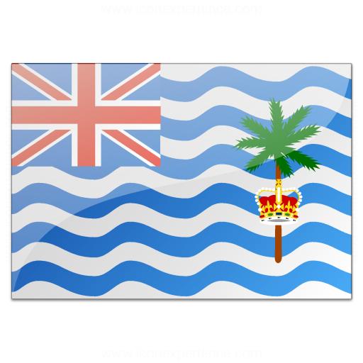 Flag British Indian Ocean Territory Icon