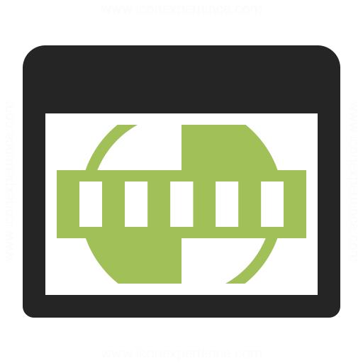 Window Test Card Icon Iconexperience