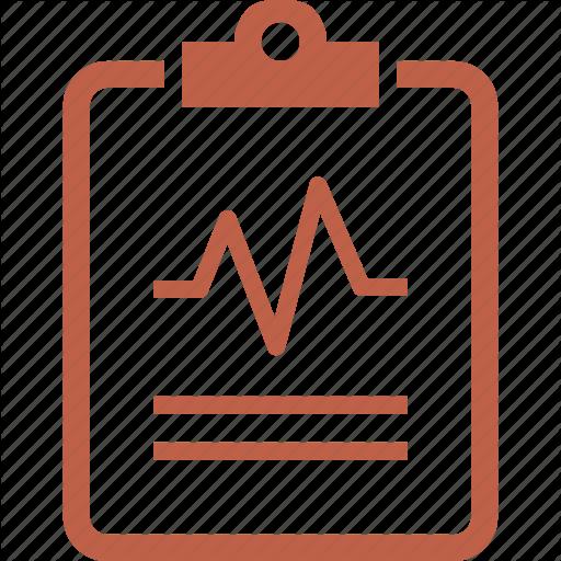 Cardiogram, Medical Diagnosis, Medical Report, Medical Test Icon