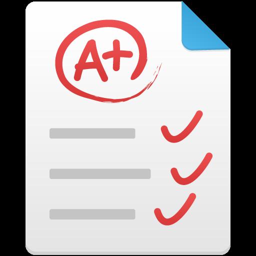Test Paper Icon Flatastic Iconset Custom Icon Design