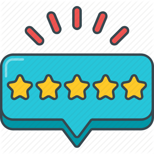 Stars, Rate, Rating, Review, Star, Stars, Testimonial Icon