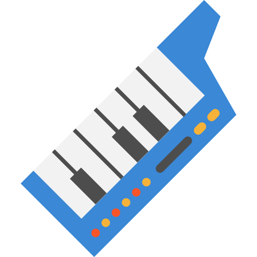 Synthesizer, Music, Play, Piano, Instrument, Digital Icon