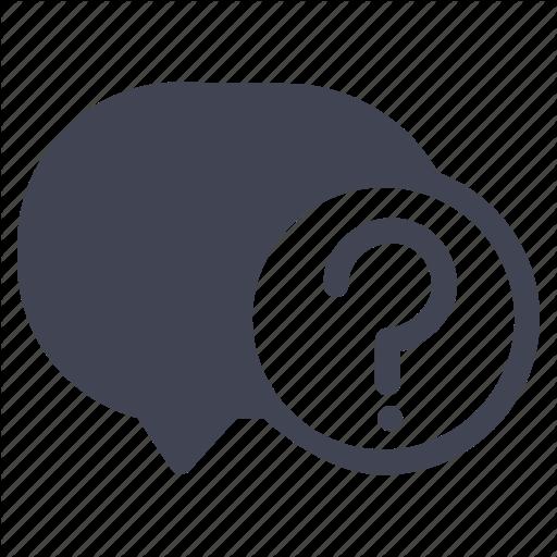 Bubble, Chat, Communication, Message, Question, Text Icon