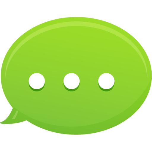 Bubble Text Message Icon Pretty Office Iconset Custom Icon