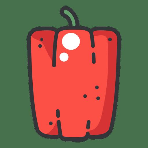 Pepper Color Icon