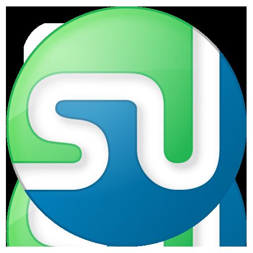 Social Stumbleupon Button Color Icon Social Bookmark Iconset