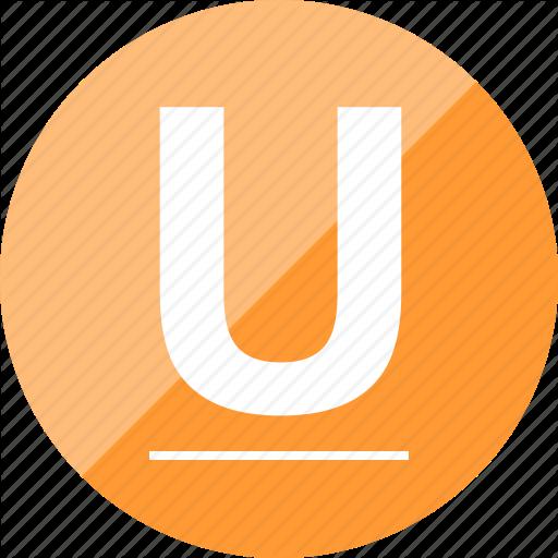 Editor, Letter, Text, Underline Icon