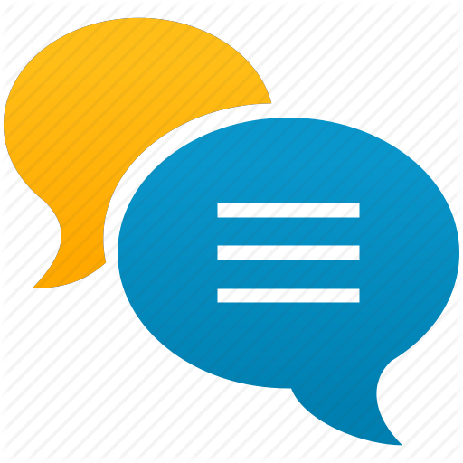 Chat, Forum, Messages, Social, Speech, Talk, Talking Icon