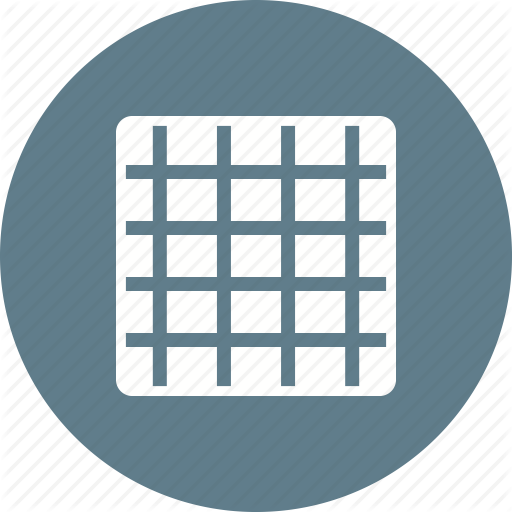 Blue, Grid, Image, Pattern, Screen, Sketch, Texture Icon