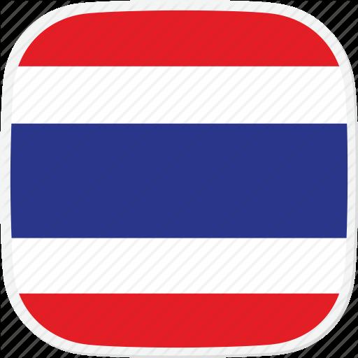 Flag, Th, Thailand Icon