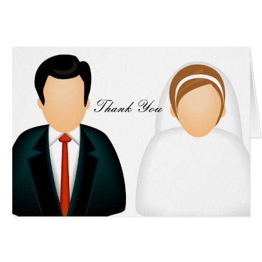 Icon Wedding Thank You Card Wedding Artsprojekt