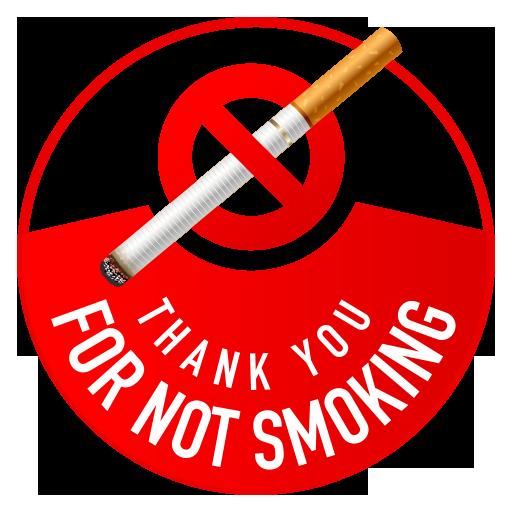 Thank You For Not Smoking Icon Icon