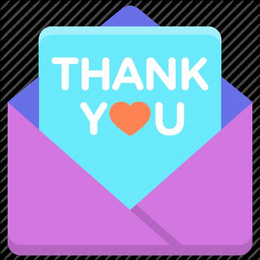 Thank You, Thank You Card Icon