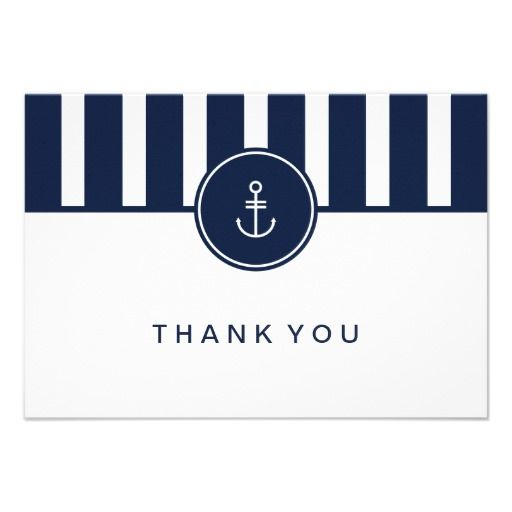 Stripes + Monogramicon + Simple Sentiment = Clean And Simple Card