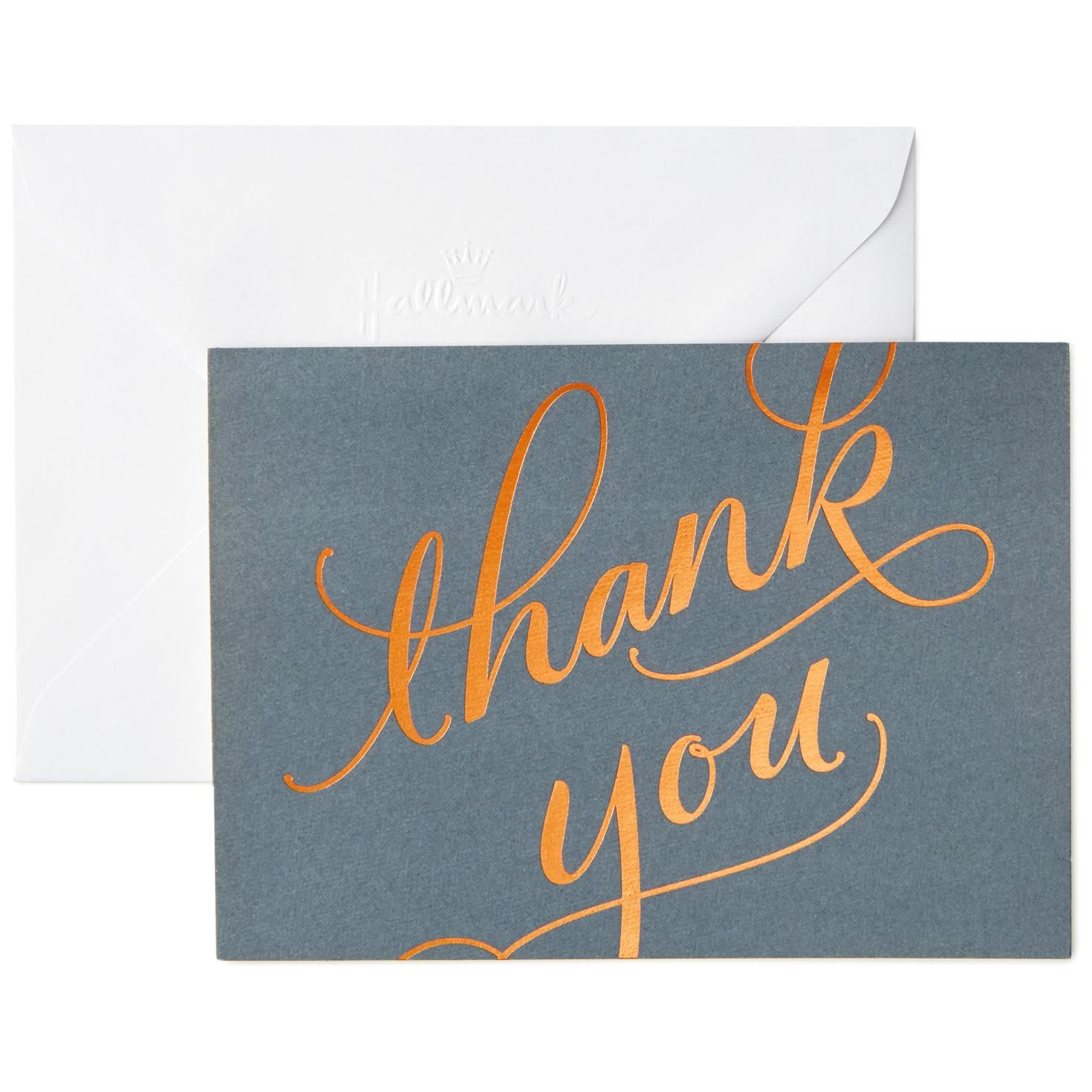Thank You Notes, Cards Gifts Hallmark