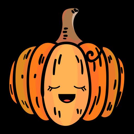 Pumpkin Cartoon Icon