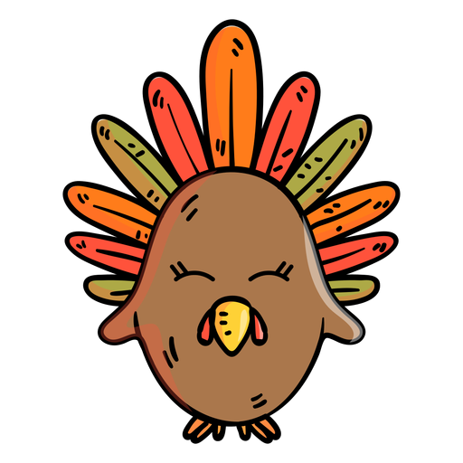 Turkey Cartoon Icon