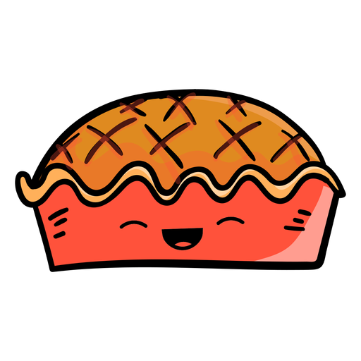 Thanksgiving Pie Cartoon Icon