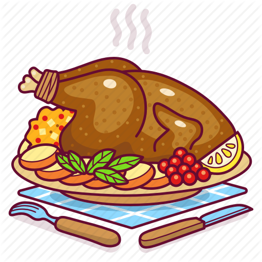 Chicken, Dinner, Food, Meal, Meat, Thanksgiving, Turkey Icon