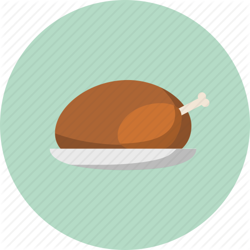 Food, Roast Turkey, Thanksgiving, Turkey Icon