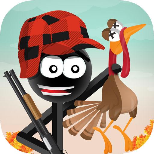 Stickman Turkey Hunter