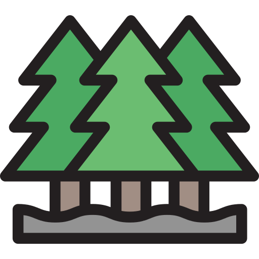 Pines Forest Png Icon