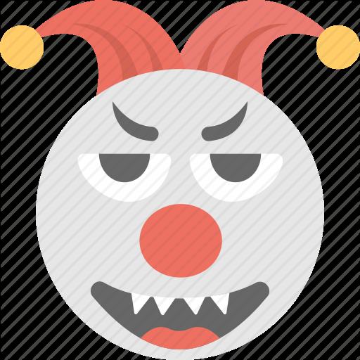 Clown, Emoji, Grinning, Jester Emoji, Joker Icon