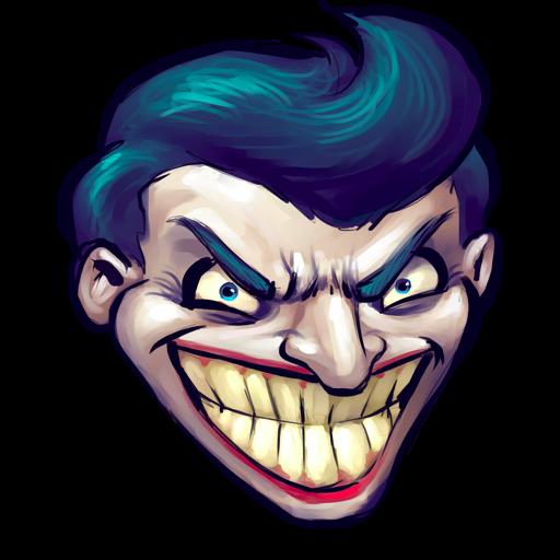 Comics Batman Joker Icon Ultrabuuf Iconset Mattahan