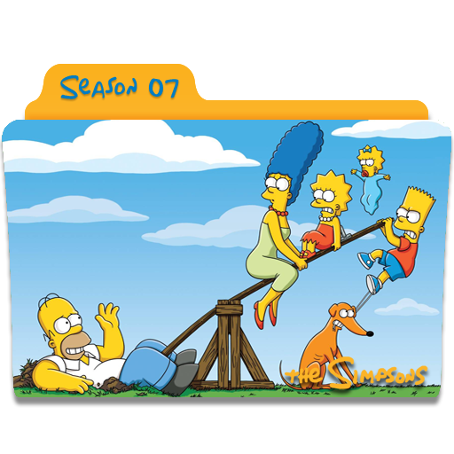 The Simpsons Season Icon Simpsons Folder Iconset Nellanel