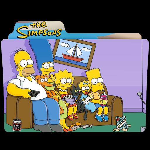 The Simpsons, Film, Popcorn, Folder, Folders Icon Free Of Simpsons