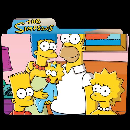 The Simpsons, Photo, Folder, Folders Icon Free Of Simpsons Folder