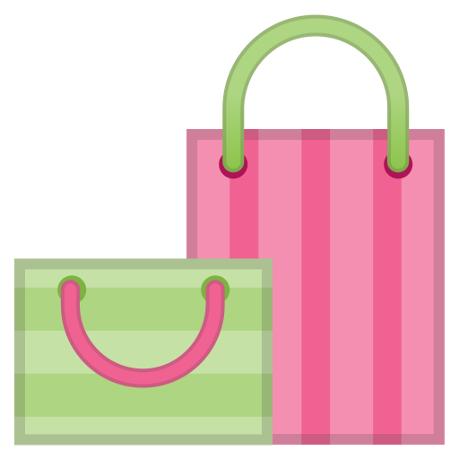 Shopping Bags Icon Noto Emoji Clothing Objects Iconset Google