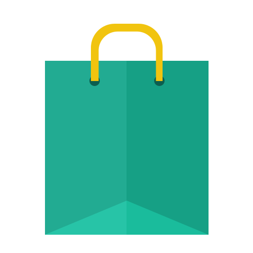 Shopping, Bag Icon