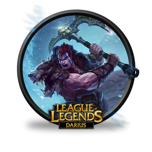 Darius Woad King Icon League Of Legends Iconset