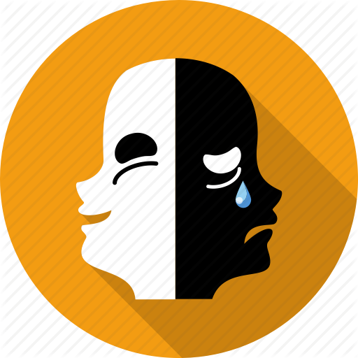 Allegory, Art, Contrast, Drama, Humor, Mask, Pantomime Icon