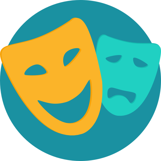 Theater Masks Icons, Download Free Png And Vector Icons