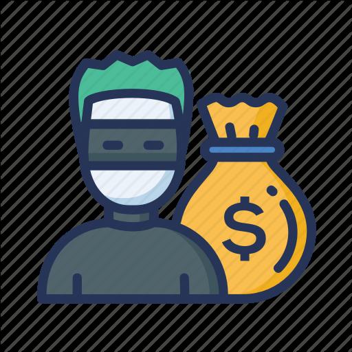 Money, Money Theft, Theft Icon