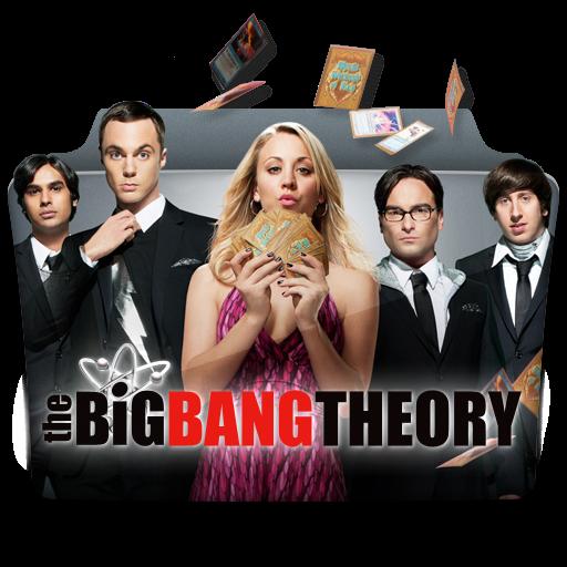 The, Big, Bang, Theory, X, Folder Icon Free Of Tv Series Folder