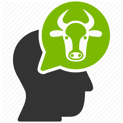 Beef, Cattle, Cow Dream, Farmer, Idea, Think, Thinking Person Icon