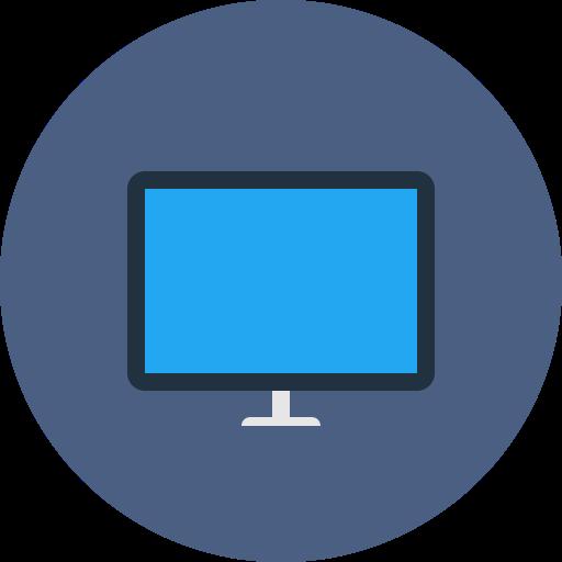 Monitor, Web, Pc, Desktop, Screen, Computer Icon