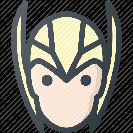 Asgardian, Avatar, Head, Marvel, People, Thor Icon