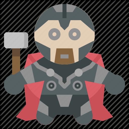 Avangers, Avatars, Gartoon, Hero, Marvel, Thor Icon
