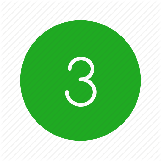 Number, Number Three, Remote, Three Icon