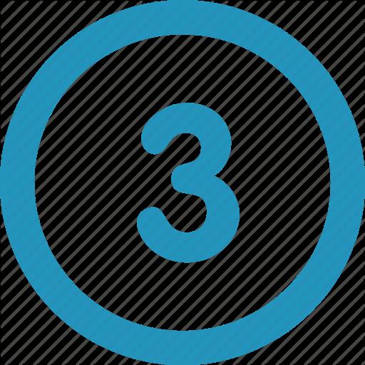 Round, Three Icon