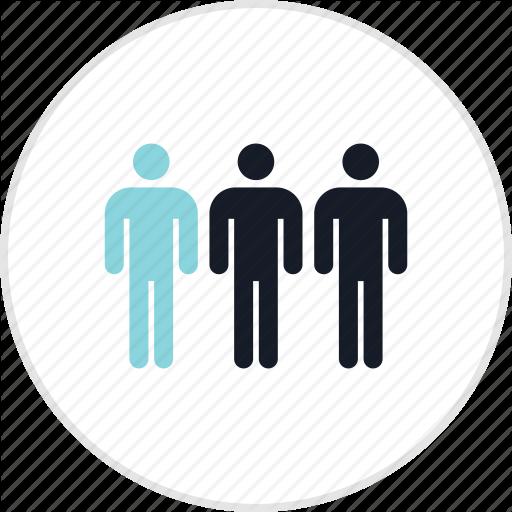 Data, Person, Three, Users Icon