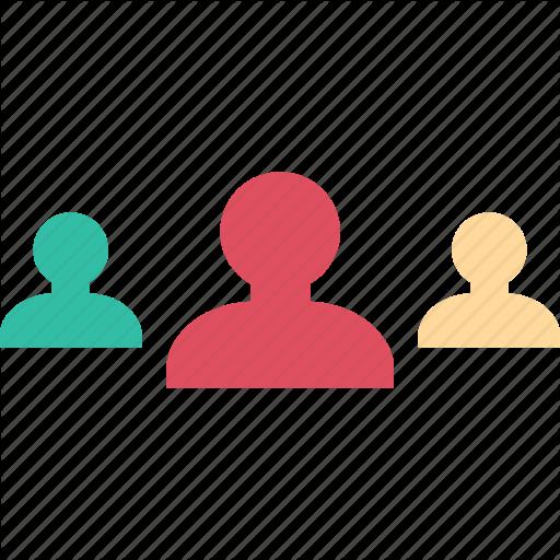 People, Team, Three, Users Icon