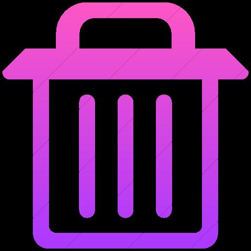 Simple Ios Pink Gradient Broccolidry Trash Bn