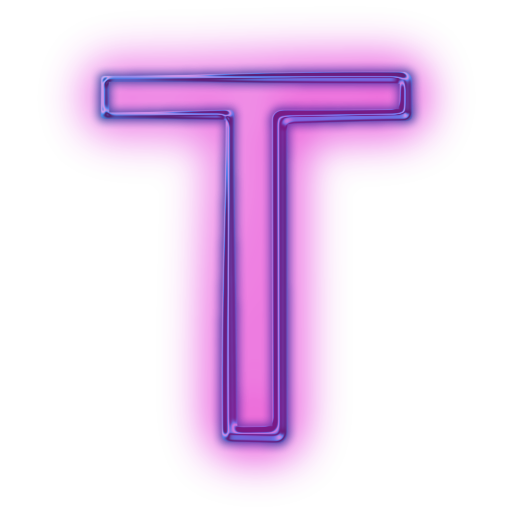 Letter T Icons