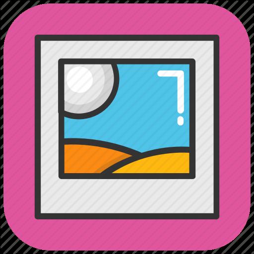Icon, Image, Landscape, Photo, Thumbnail Icon